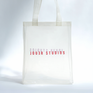 Transparent Tote Vanilla White