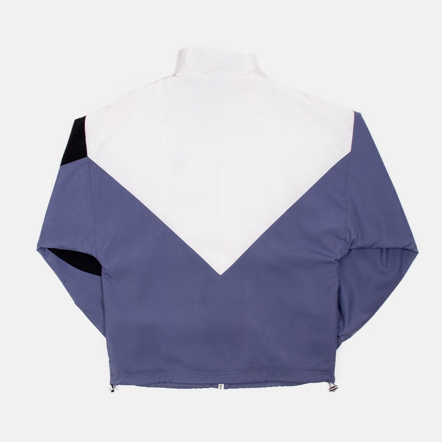 Wmns Track Jacket   Raw Indigo/White
