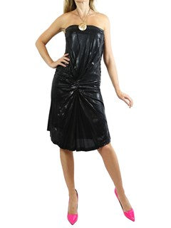 Alberta Ferreti black dress. US 4