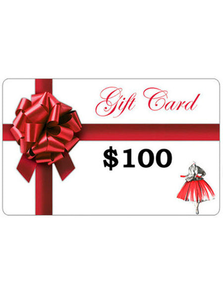 Gift Card - $100 Value
