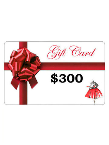 Gift Card - $300 Value