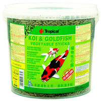 Tropical Koi & Goldfish Vegetable Sticks 1kg