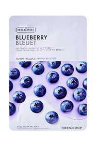 Real Nature | Blueberry Sheet Mask | Shop Mujer Bonica