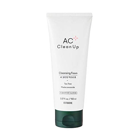 Etude House | AC Clean Up Cleansing Foam