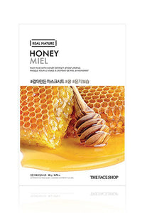 Real Nature | Honey Face Mask | Shop Mujer Bonica