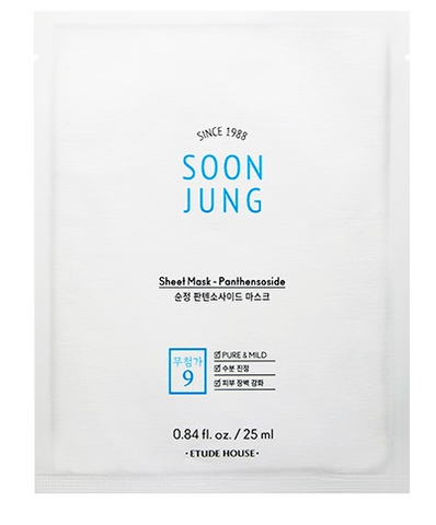 Etude House | Soon Jung Panthensoside Sheet Mask