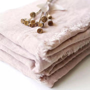 Blush Pink Gauze Napkins - Set of 4 - Tea + Linen