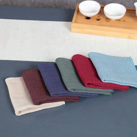 Solid Utility Towel - Tea + Linen