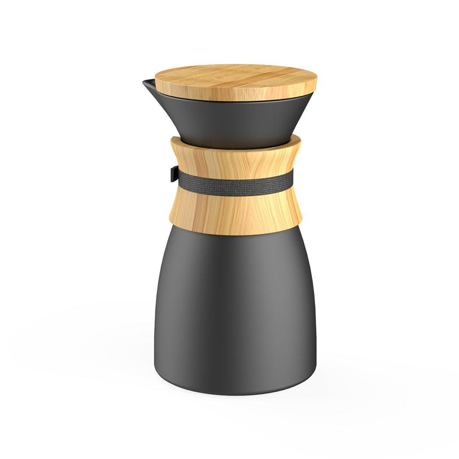 Pour Over Coffee Maker - Black - Tea + Linen