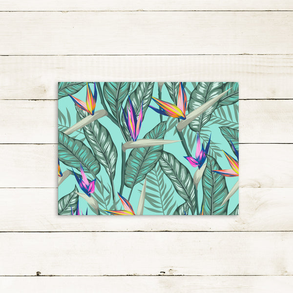 Birds of Paradise Placemat - Tea + Linen