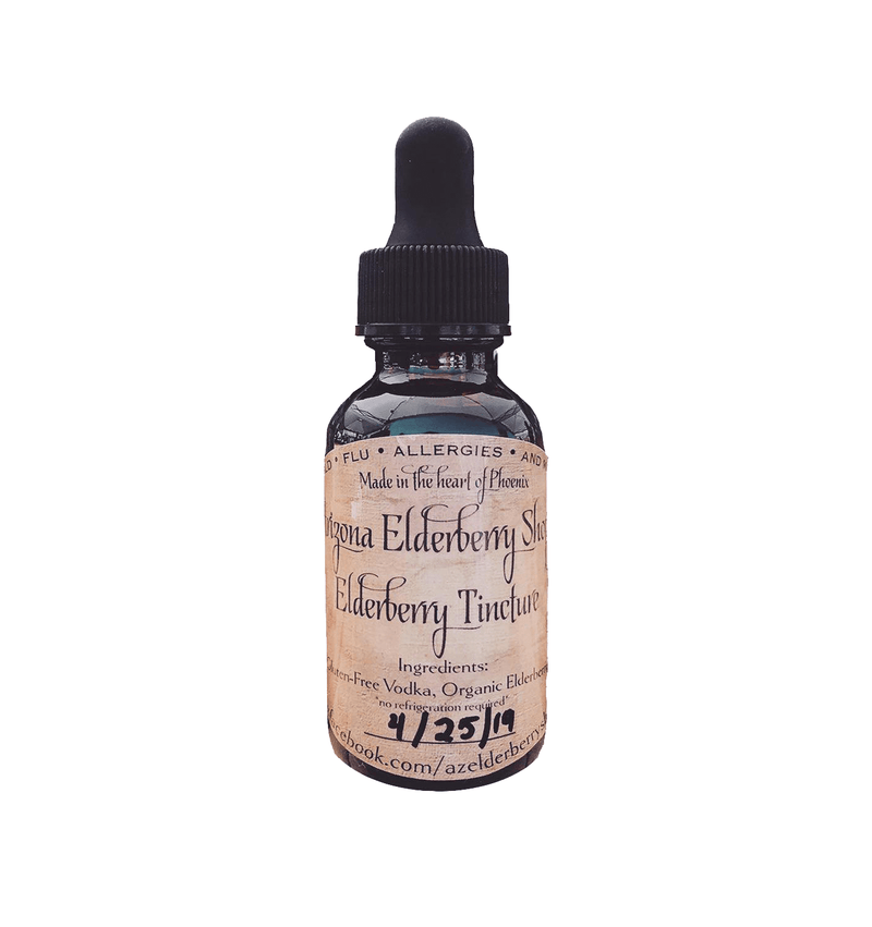 Elderberry Tincture (60ml)