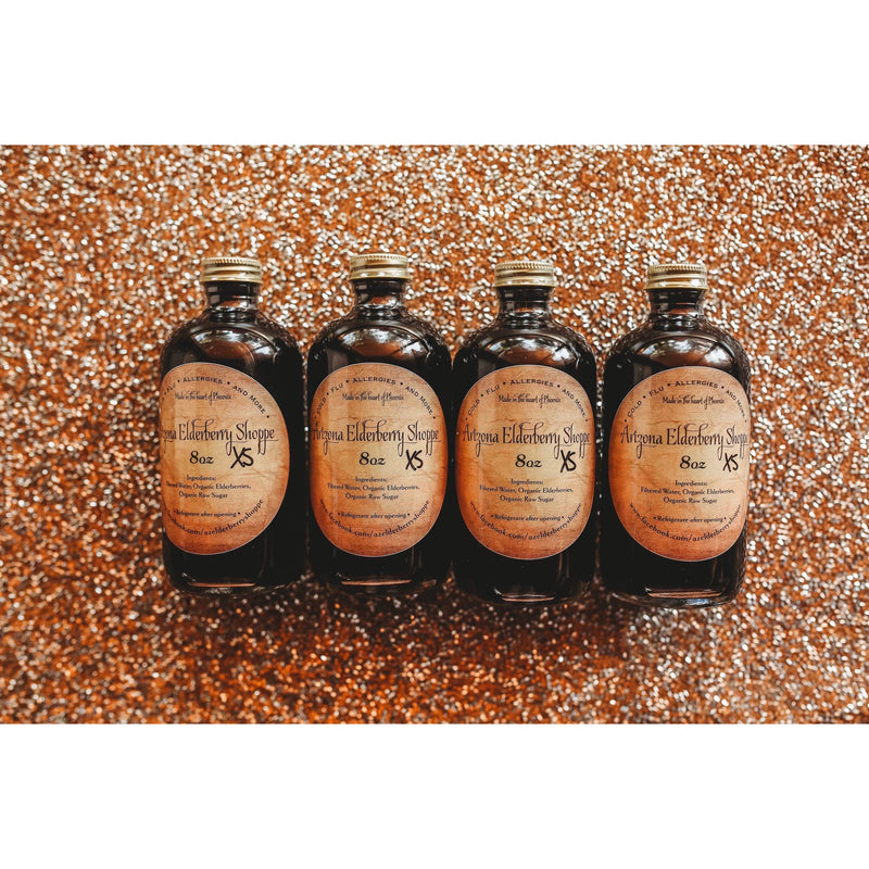 Elderberry syrup XS (4-8oz)