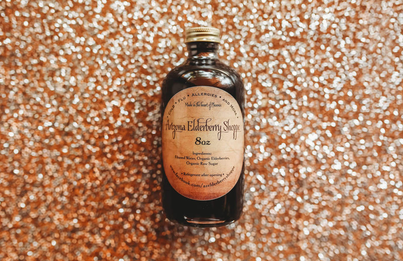 Elderberry Syrup (8oz)