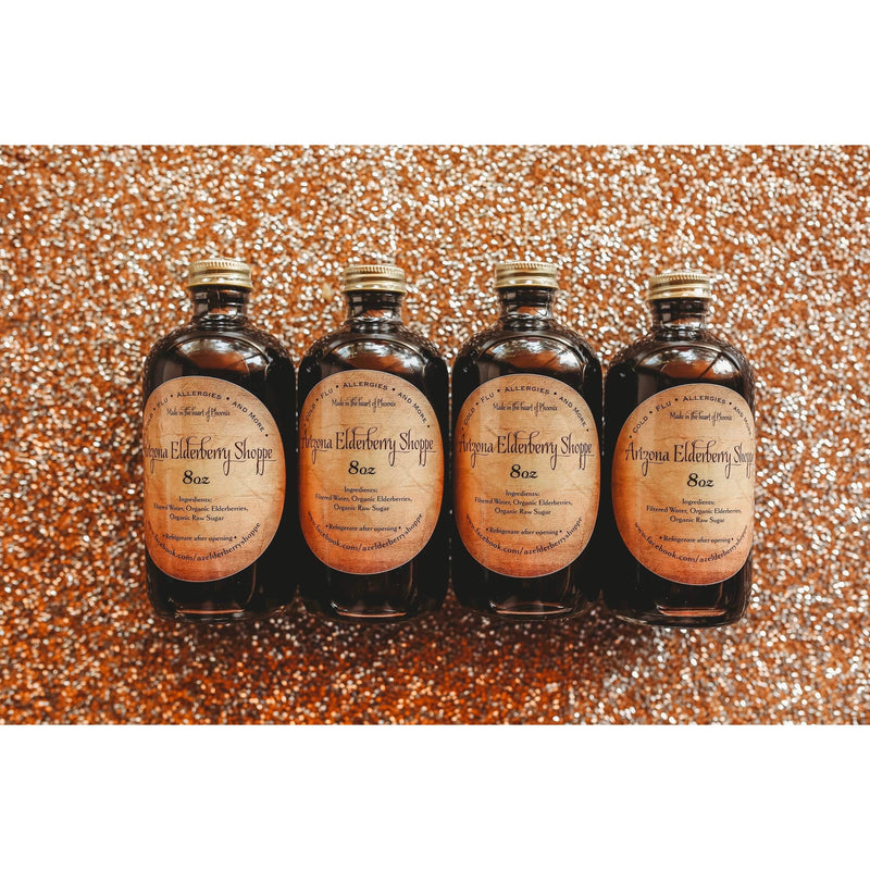 Elderberry Syrup (4-8oz)