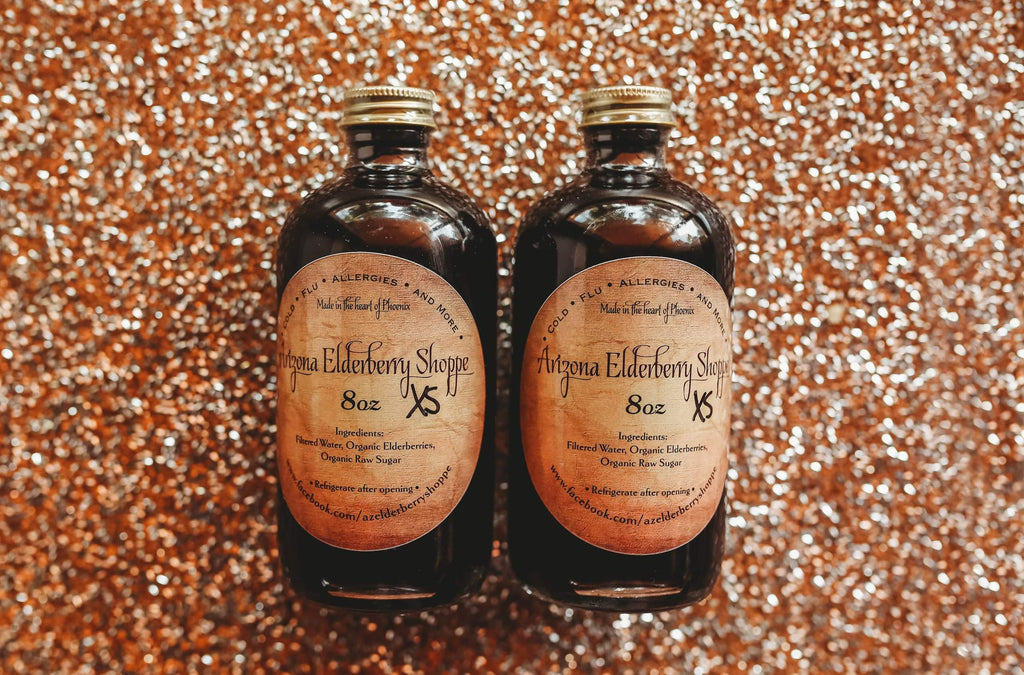 Elderberry Syrup XS (2-8oz)