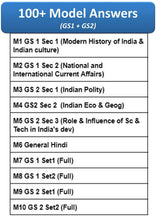 Load image into Gallery viewer, BPSC Mains Model Answers - Notes Pattern  [GSI, GSII, Gen Hin]  - English & Hindi