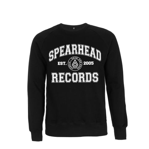 Spearhead 'College' Sweatshirt - Black