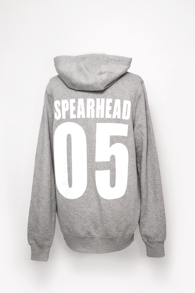 Spearhead 'Sports' Unisex Hoodie - Sports Grey