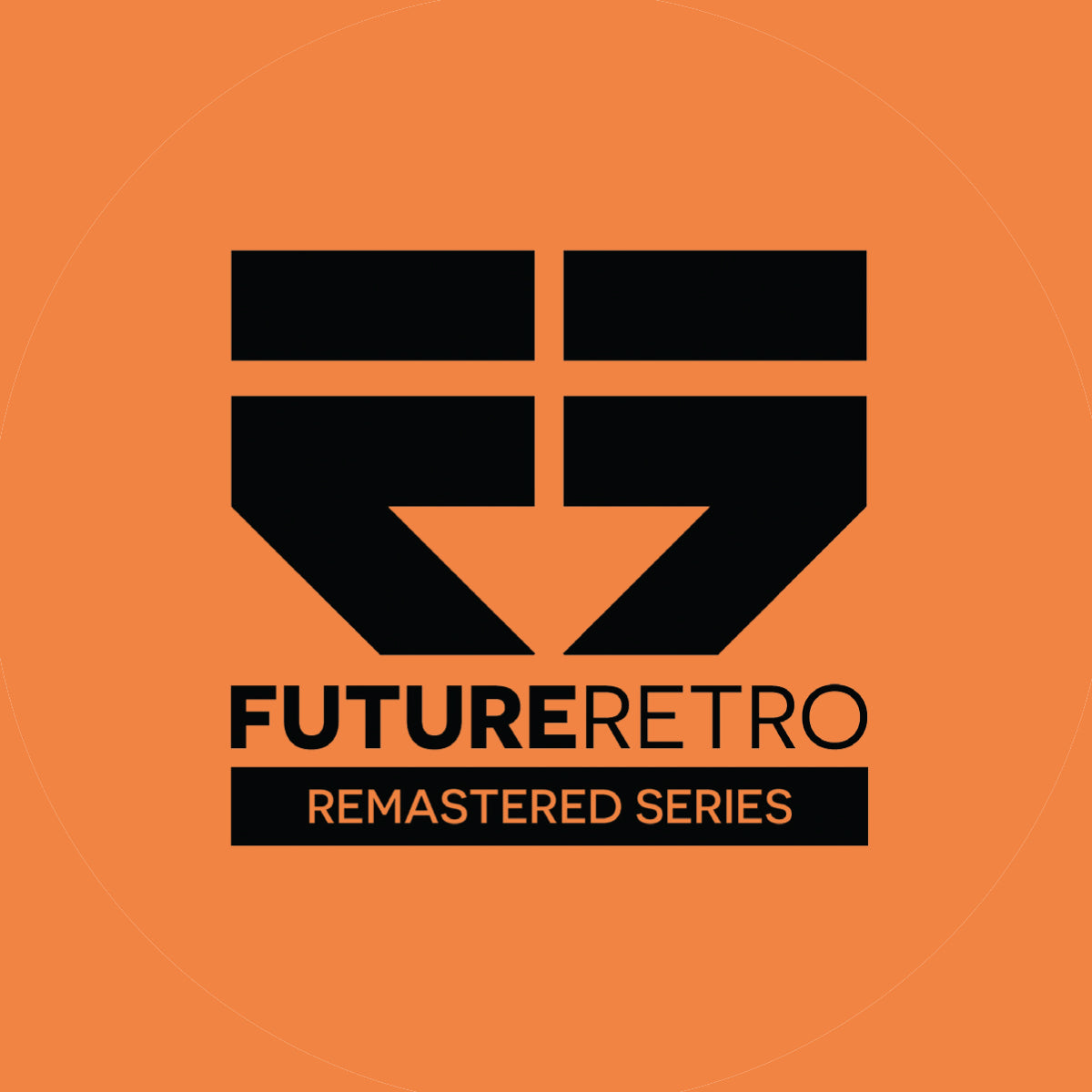 "RETRO014 - Future Retro Remastered Series - BCee / Netsky / Lenzman etc. 12"" Limited Edition Orange Vinyl"