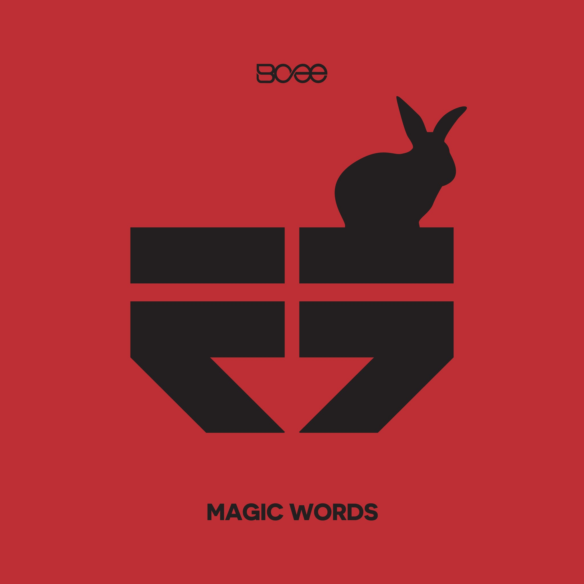 "RETRO015 - BCee - Magic Words EP - 12"" Limited Edition Red Vinyl & MP3"