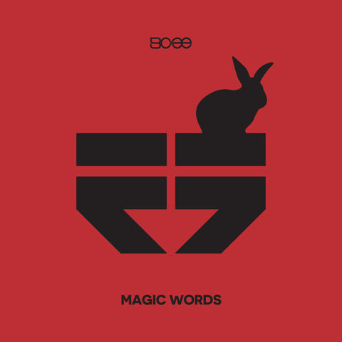 "RETRO015 - BCee - Magic Words EP - 12"" Limited Edition Red Vinyl & Download"