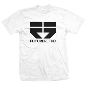 Future Retro Logo Tee - White