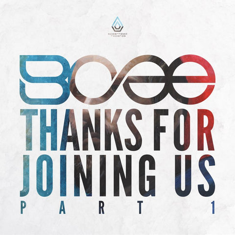 "SPEAR069 - BCee - Thanks For Joining Us Part 1 - 12"" Vinyl & MP3"