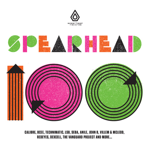 "Various Artists - Spearhead 100 - 4 x 12"" Vinyl Boxset & Download"