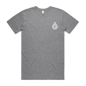 Spearhead Logo T-Shirt with large logo back print - Athletic Heather.