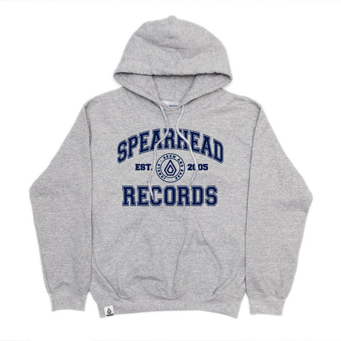 Spearhead 'College' Hoodie - Sports Grey