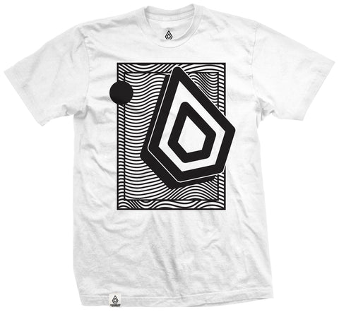 Spearhead 'Wavey' Tee - White