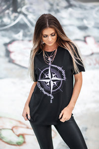 Spearhead 'Northpoint' Unisex T-Shirt - Black