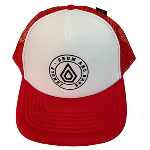 Spearhead 'Trucker' Cap - Red / Black