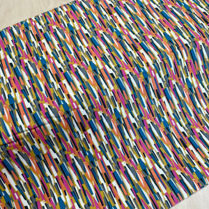 Abstract Stripes Needlecord / Corduroy