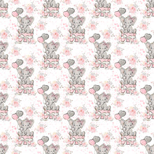 Load image into Gallery viewer, Elephant Balloon Pink cotton Jersey