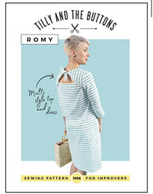 Load image into Gallery viewer, Tilly & The Buttons Romy Dress Sewing Pattern