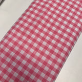 Gingham Print Cotton