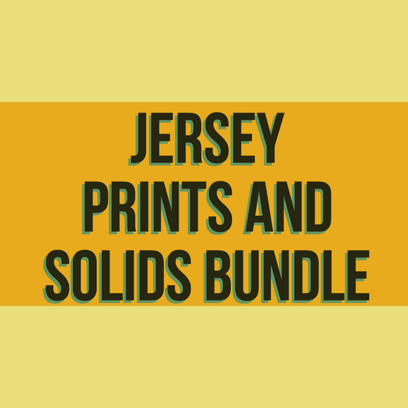 Jersey Prints and Solids Bundle