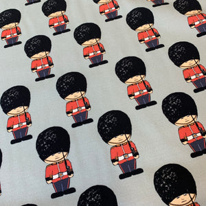 PRE ORDER London Guards Cotton Jersey Fabric- DUE IN STOCK W/c 15/02