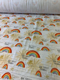 Perfect Rainbow Cotton Jersey Fabric
