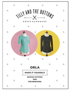 Tilly & The Buttons Orla Sewing Pattern