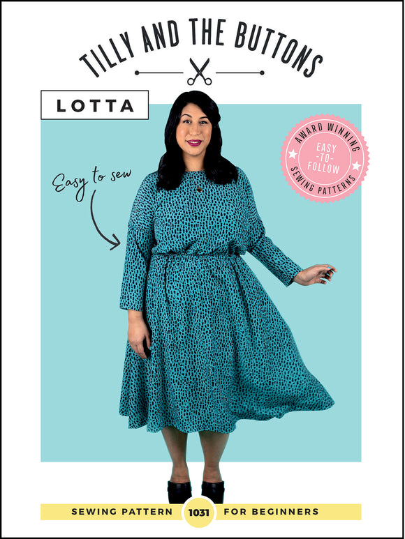 Tilly & The Buttons Lotta Dress Sewing Pattern