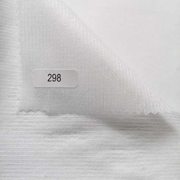 298w – Ultrasoftstitch re-inforced iron on interfacing