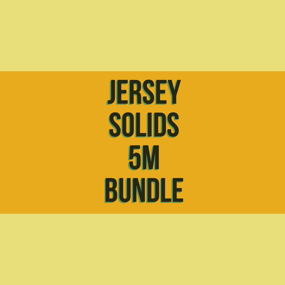Jersey Solids 5m Bundle