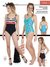 Load image into Gallery viewer, One Piece Swimsuit JALIE Woman's and Girls Sewing Pattern