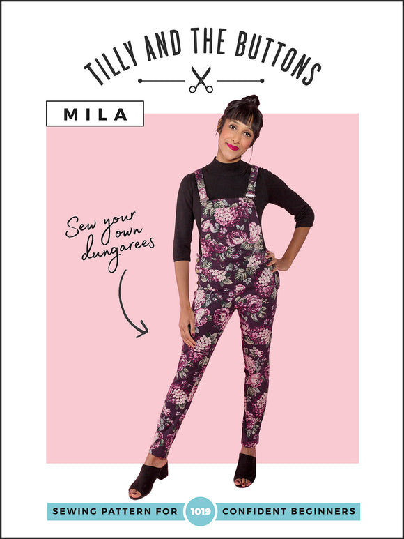 Tilly & The Buttons Mila Dungarees Sewing Pattern
