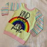 Kind People Cotton Lycra Panel