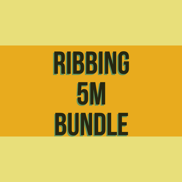 Ribbing 5m Bundle