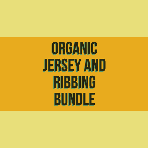 Organic Jersey and Ribbing Bundle