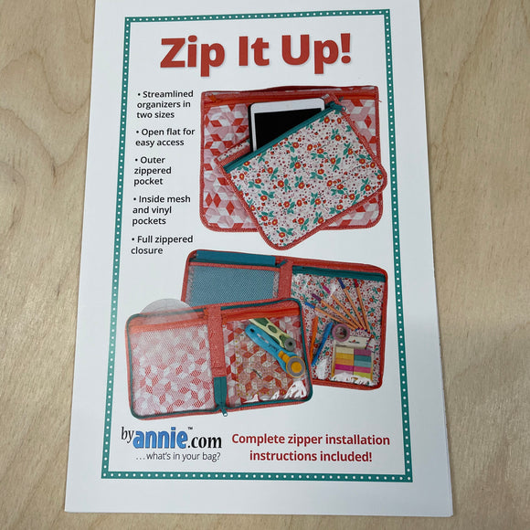 Zip it up Sewing Pattern